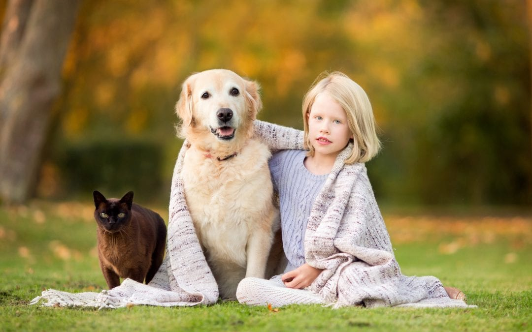 A beautiful Autumn family photo session