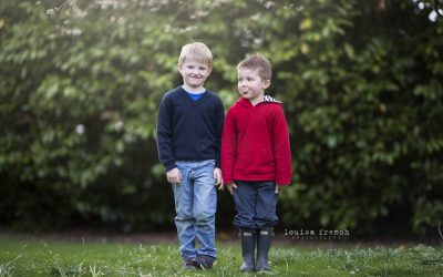 Boys will be boys! Family photography in Cambridge
