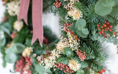 A Homemade Christmas Wreath