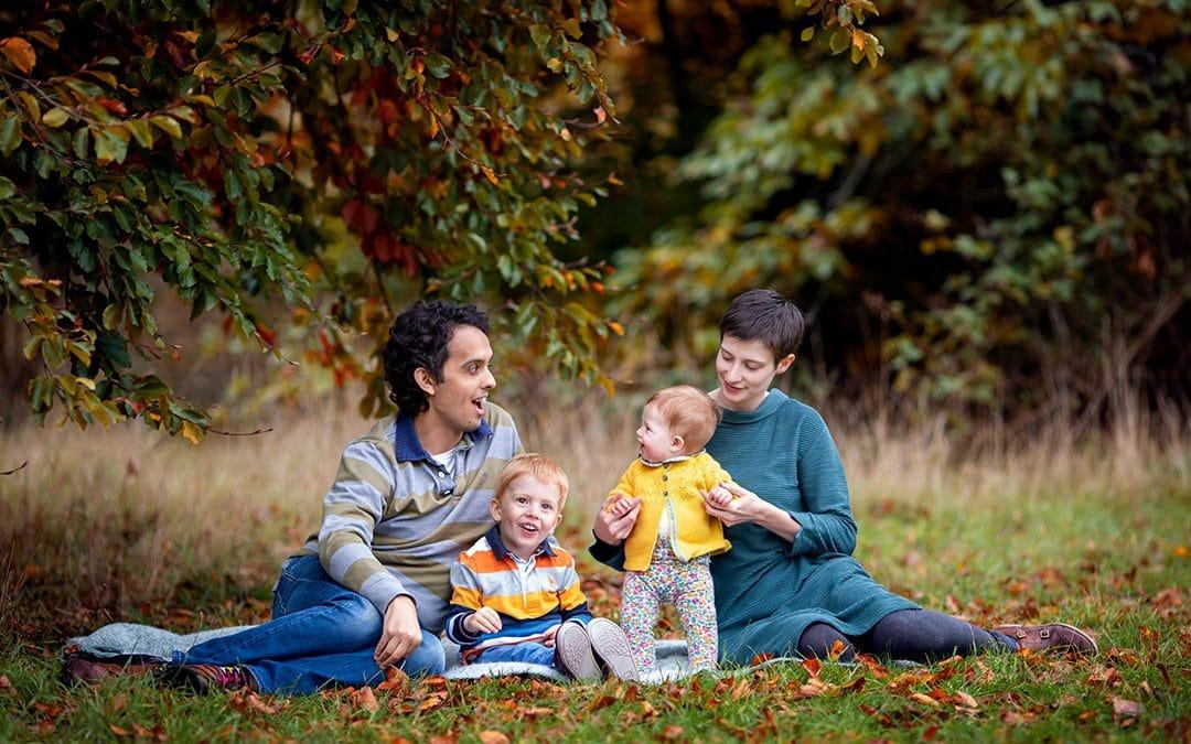 Autumn Family Mini Shoots at Wandlebury Country Park