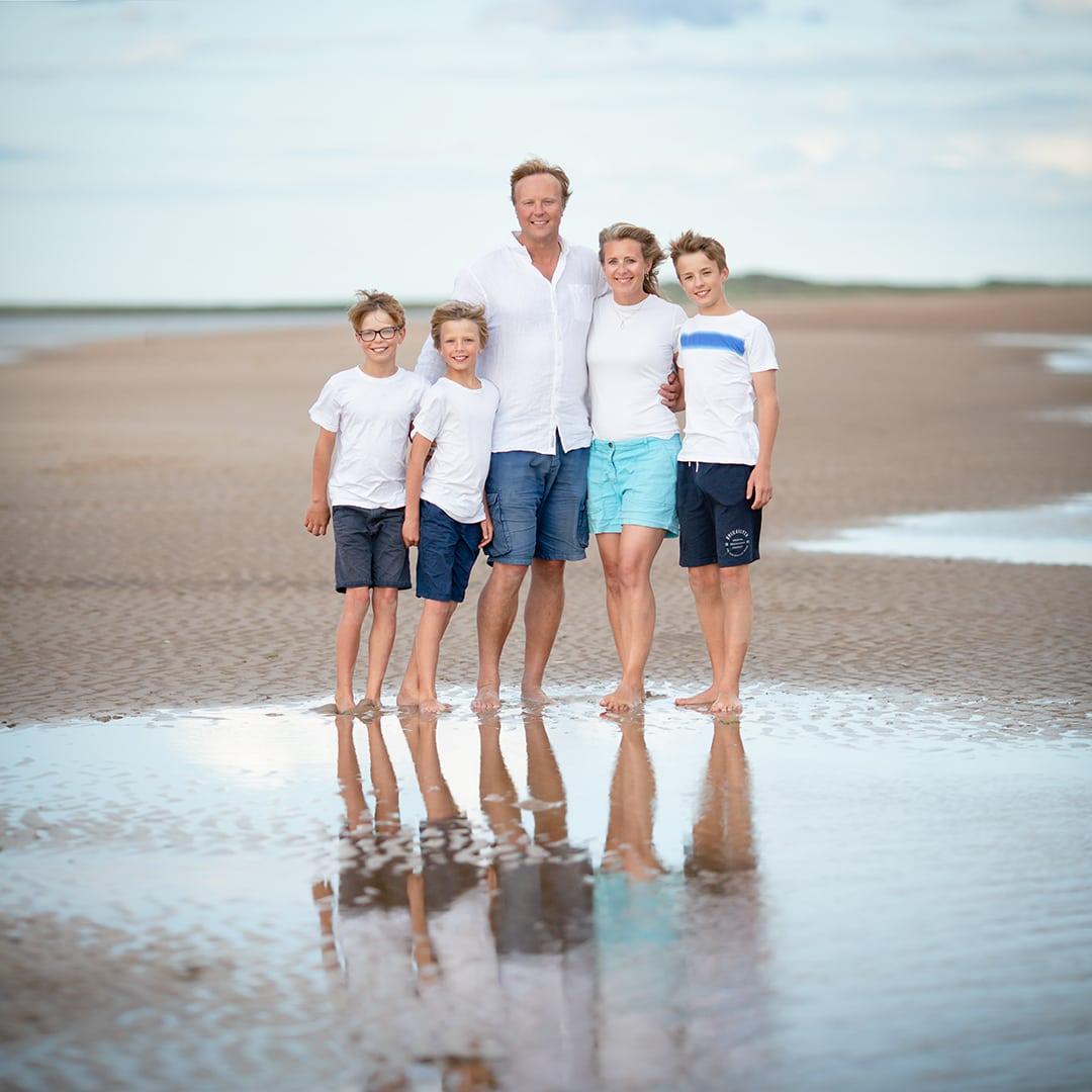 family photos at Brancaster