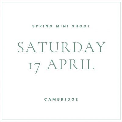 family mini shoot Saturday 17 April