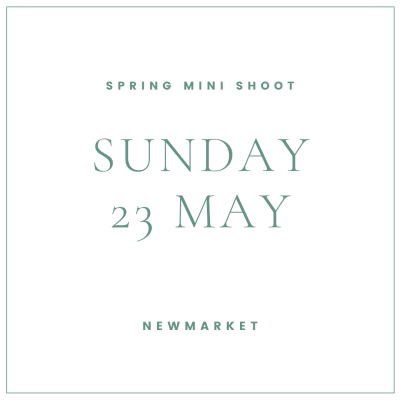 Spring family mini shoot Newmarket