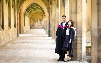 A Graduation Photoshoot in Cambridge