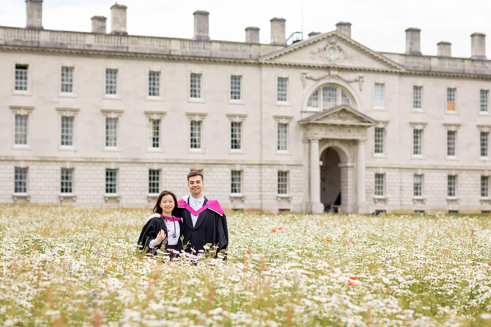 Graduation photoshoot at Senate House Cambridge