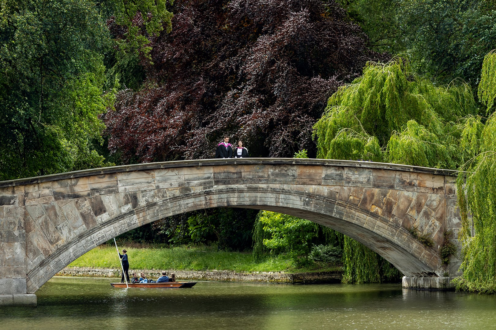 Kings College Bridge Cambridge