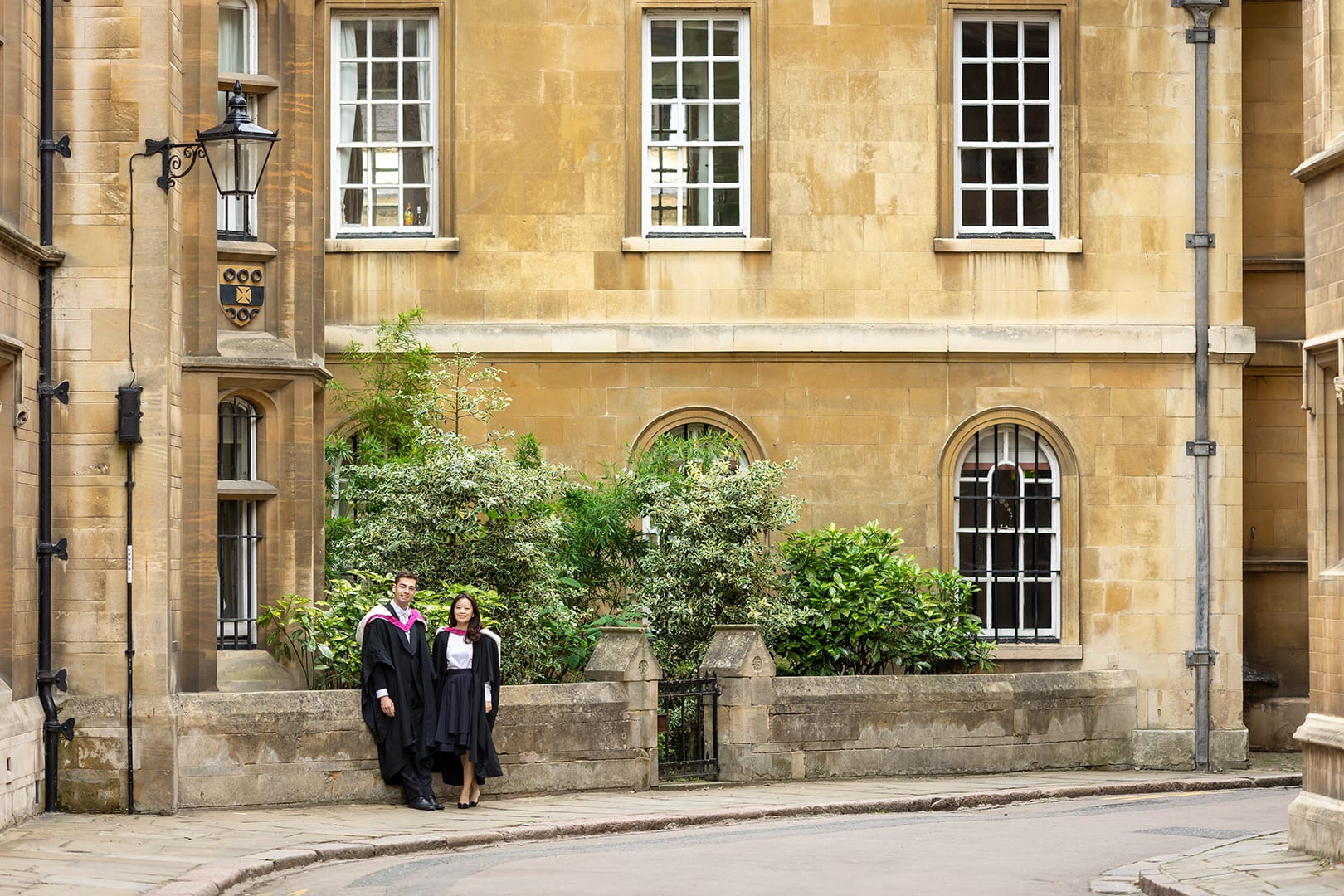 Cambridge Students on Trinity Lane