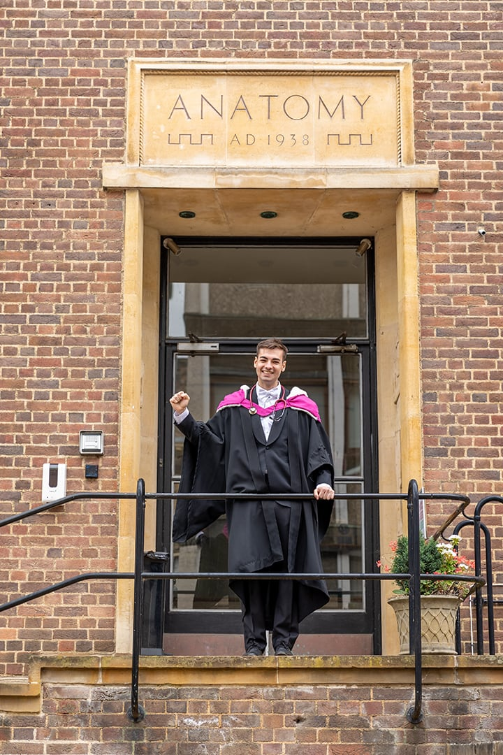 Cambridge graduation photoshoot